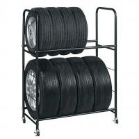 Racks, shelves for storing wheels