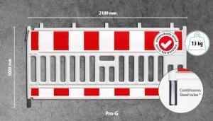 Мобильный пластиковый защитный барьер Pro-G