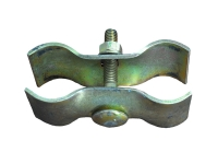 Sectional fence clamp