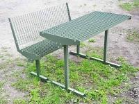 Комплект уличный скамья стол