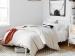 Кровать белая классическая