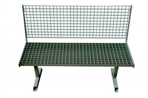 Скамейка металлическая для улицы