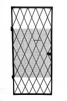Решетка защитная одностворчатая дверная