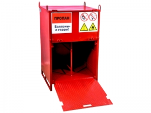 Шкаф-контейнер для баллонов