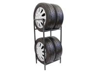 Стеллаж для четырех колес на два уровня