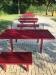 Стол парковый металлический антивандальный