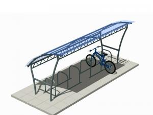 Велопарковка с навесом Компред