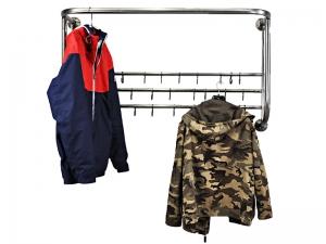 Вешалка для одежды в раздевалку